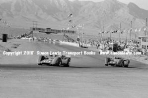 McLaren M6Bs (Motsembachler and Titus) Photo.  Las Vegas 1968 Stardust Can Am